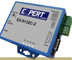 Adaptador de 2 puertos RS233/422/485 a Ethernet