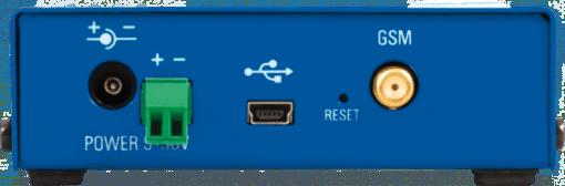 Vista trasera del termómetro GSM hwg-ares12