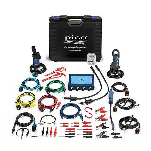 Nuevo kit estándar de 4 canales para automoción con el osciloscopio pico 4425a