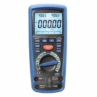 medidor de aislamiento 1000V dit9985
