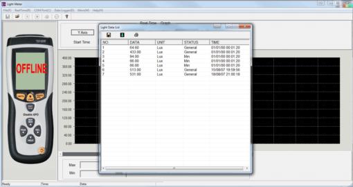 software de luxometro
