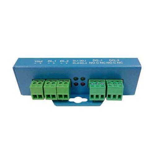 Conversor serie a ethernet con entradas y salidas Ex9132cst-dio