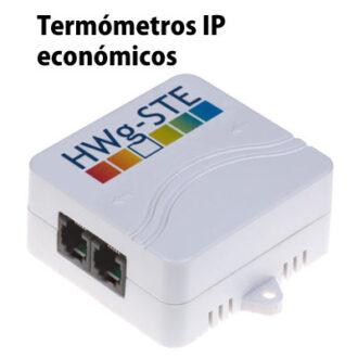 Termómetros IP económicos HWg-STE