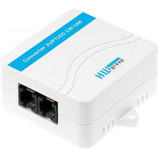 Convertidor sensor doble pt100 a 1wire-UNI
