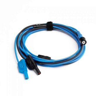 cable BNC a banana azul