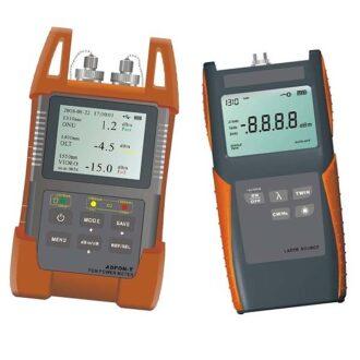 kit de fibra óptica con medidor de potencia y fuente láser para ICT-F