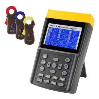 analizador de potencia y armónicos trifásico DIT6830