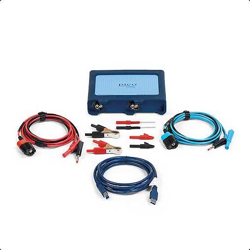 Nuevo kit de automoción básico con el osciloscopio Pico 4225A