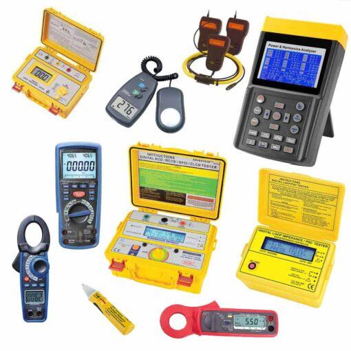 kit para rebt categoría especialista con analizador con pinzas de 3000A
