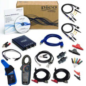 kit de automoción premium con osciloscopio pico 2204a