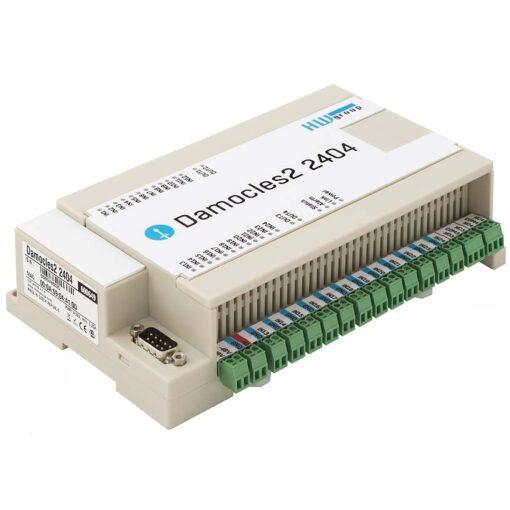 damocles2 2404 controla 24 entradas y 4 salidas por IP