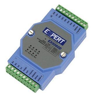 EX9060d módulo de 4 entradas digitales y 4 salidas a relé con conexión RS485