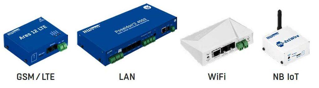 Equipos compatibles con el sensor de CO2 de Ditecom
