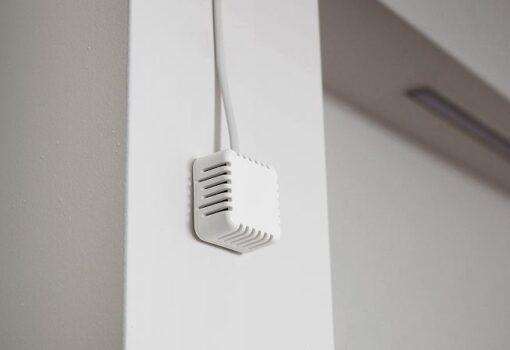 Temp HomeBox - Sensor de temperatura para bus 1-wire fiajdo en una pared